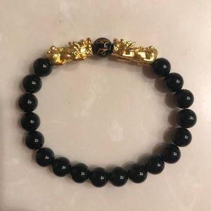 Other - Pixiu bracelet.  24k gold